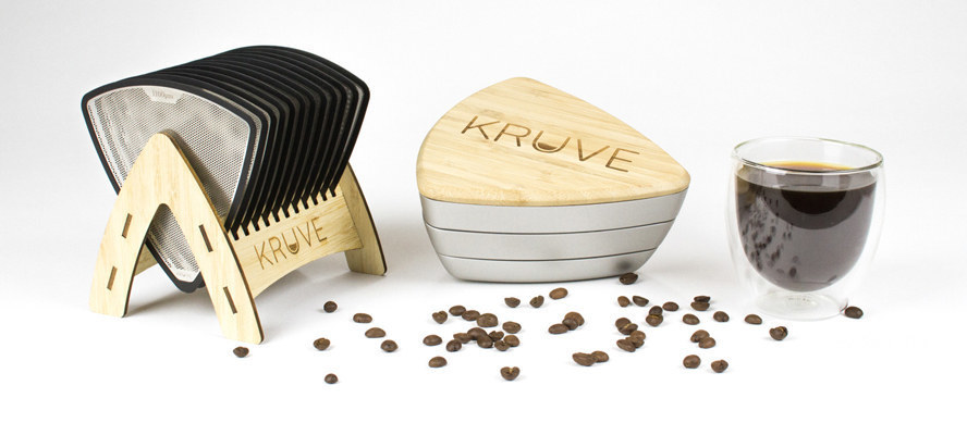 Kruve Sifter display
