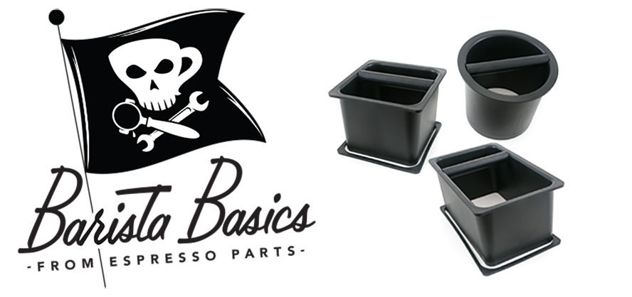 Barista Basics Knockboxes From Espresso Parts, built for durability and functionality