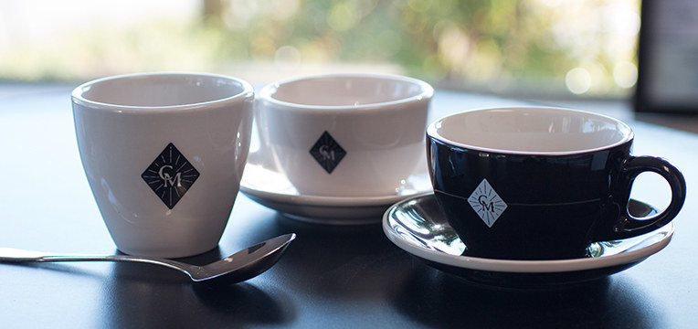 barista basics porcelain coffee cups from espresso parts