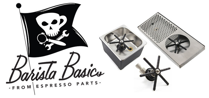 Increase your efficiency with Barista Basics rinsers from Espresso Parts
