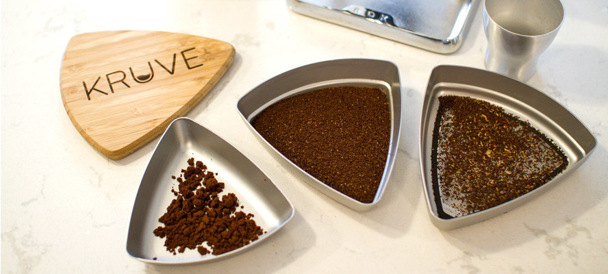 Kruve Sifter from espresso parts