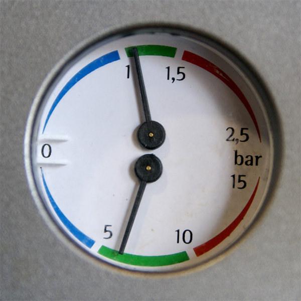 Espresso Machine Pressure Guage