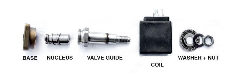 Solenoid components